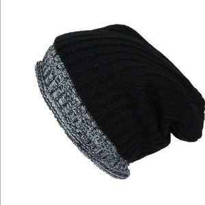 Double Layered Knit Beanie